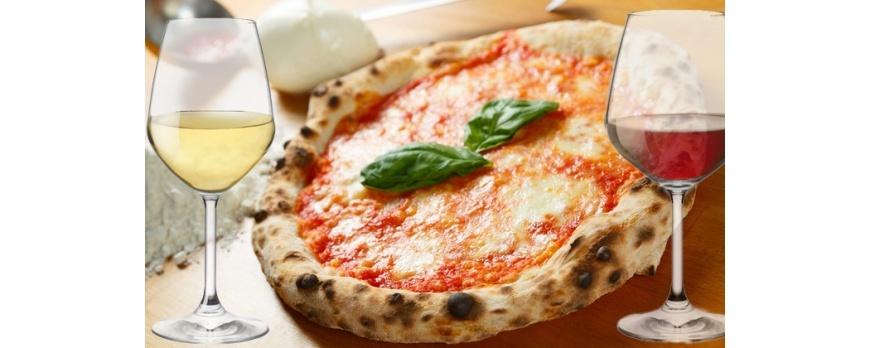 Finito in pizza? Armonizza con il vino!