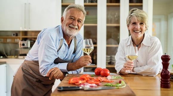 Vino e salute: Non è mai tardi
